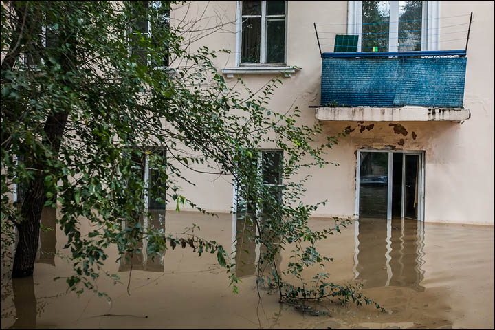 flooding in Amur region