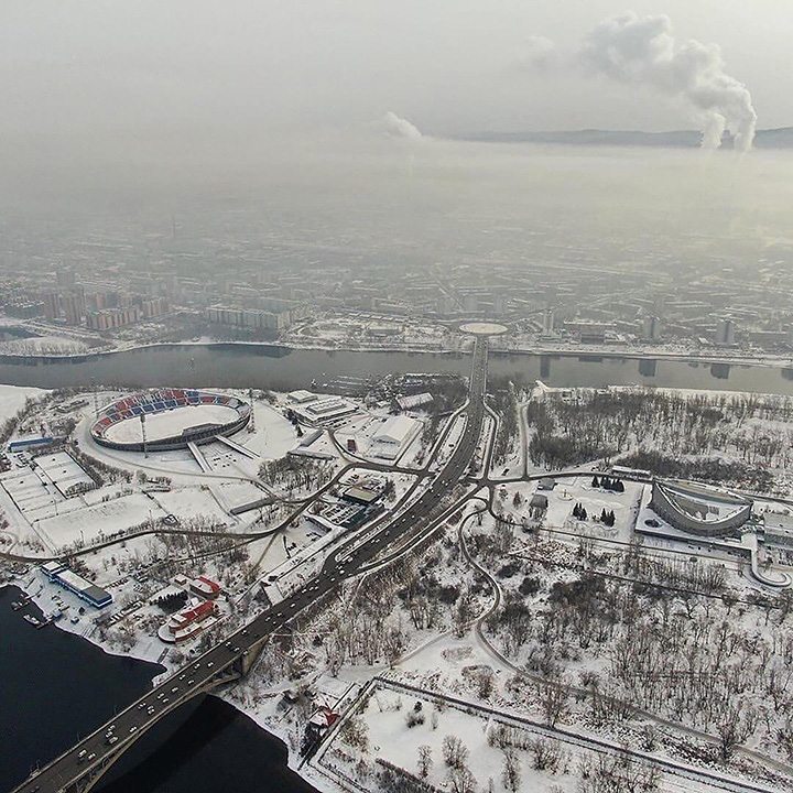 The day the world's most polluted city was in Siberia