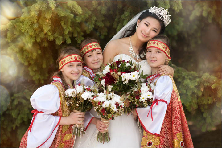 Chinese wedding in Russia