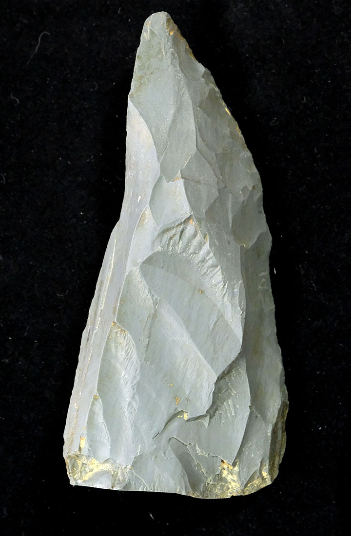 Stone tool from the cave