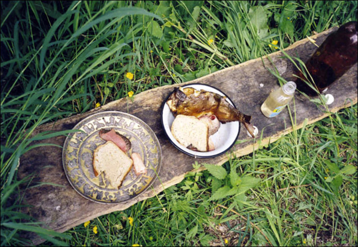 Ancient dish used in a rite