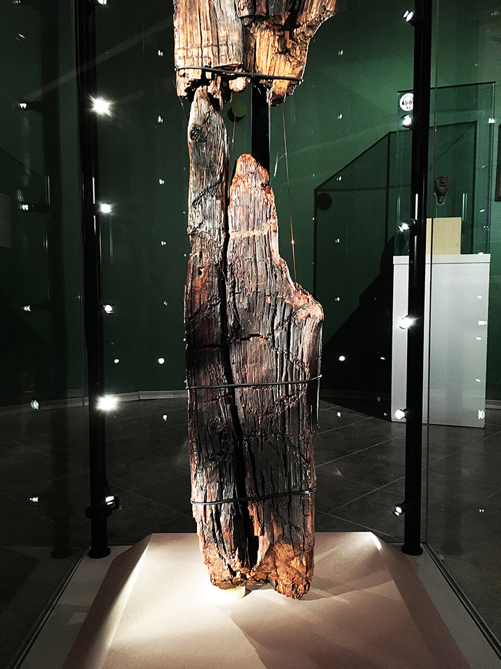 The worlds oldest wooden statue